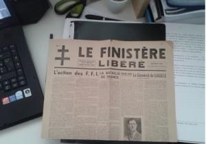 Le Finistère Libéré, 26 août 1944