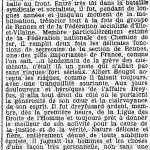 Extrait de l'Humanité, 7 août 1915