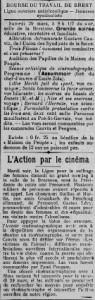 Extrait du Cri du Peuple, 29 mars 1913